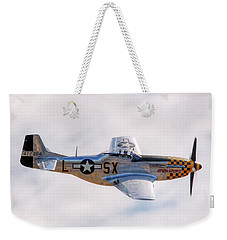 Weekender Tote Bag featuring the photograph Cadillac Of The Sky  by Jeff Cook