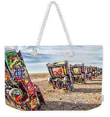 Cadillac Ranch 1 Weekender Tote Bag