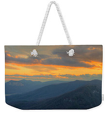 Weekender Tote Bag featuring the photograph Caesars Head Light by David Waldrop