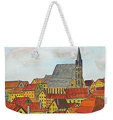 Cesky Krumlov Weekender Tote Bag by Jack G Brauer