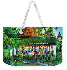 Cafe Du Monde Morning Weekender Tote Bag