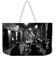 Cafe In Centro Weekender Tote Bag