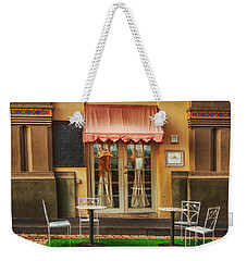 Cafe In Old San Juan Weekender Tote Bag