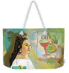 Cafe Ole Girl Weekender Tote Bag