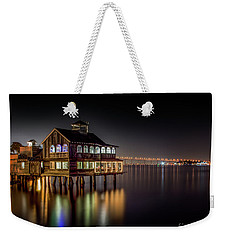 Cafe On The Port Weekender Tote Bag