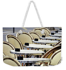 Cafe Terrace In Paris Weekender Tote Bag