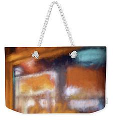 Cafe Window Weekender Tote Bag by Glenn Gemmell