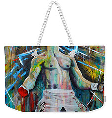 Cage Fighter Weekender Tote Bag