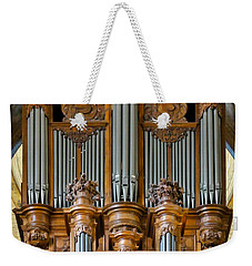 Cahors Cathedral Organ Weekender Tote Bag