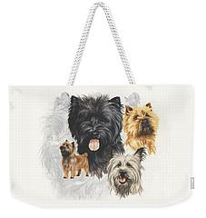 Cairn Terrier Revamp Weekender Tote Bag
