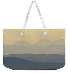 Cairngorms Sunset Weekender Tote Bag