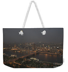 Cairo Smog Weekender Tote Bag by Darcy Michaelchuk