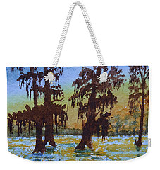 Cajun Sky Weekender Tote Bag