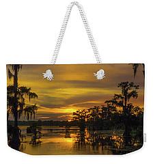 Cajun Vikings Weekender Tote Bag by Kimo Fernandez