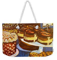 Cake Case Weekender Tote Bag