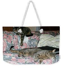 Cal-4 Weekender Tote Bag