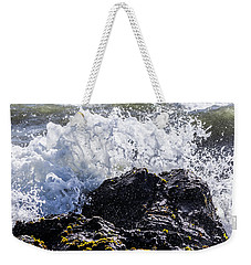 California Coast Wave Crash 4 Weekender Tote Bag