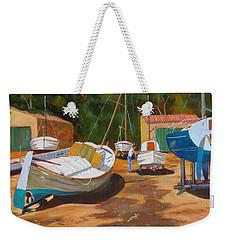 Cala Figuera Boatyard - I Weekender Tote Bag