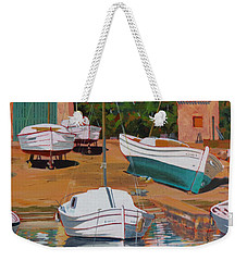 Cala Figuera Boatyard - II Weekender Tote Bag