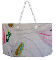 Cala Lillies Weekender Tote Bag by Barbara Yearty