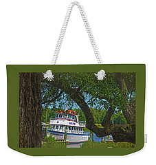 Calabash Deep Sea Fishing Boat Weekender Tote Bag by Sandi OReilly