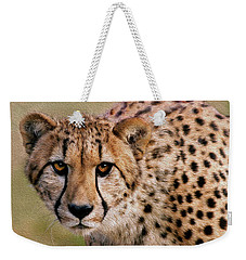 Calculated Look Weekender Tote Bag