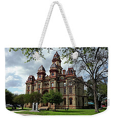 Caldwell County Courthouse Weekender Tote Bag