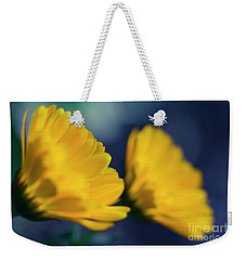 Weekender Tote Bag featuring the photograph Calendula Flowers by Sharon Mau