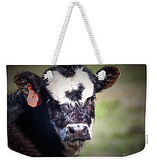 Calf Number 444 Weekender Tote Bag by Laurinda Bowling