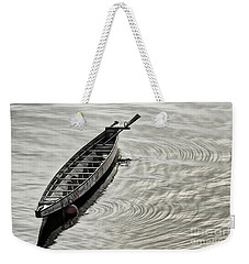 Weekender Tote Bag featuring the photograph Calgary Dragon Boat by Brad Allen Fine Art