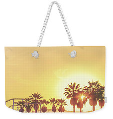 Weekender Tote Bag featuring the photograph Cali Vibes by Az Jackson
