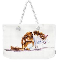 Calico Cat Washing Weekender Tote Bag