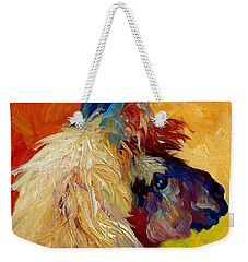 Calico Llama Weekender Tote Bag