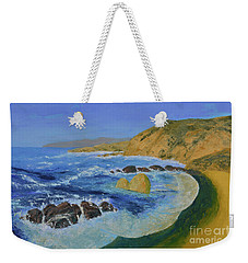 Calif. Coast Weekender Tote Bag