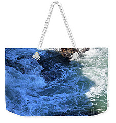 Weekender Tote Bag featuring the photograph California Blue by Michael Rock
