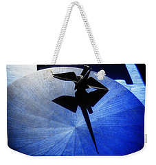 Weekender Tote Bag featuring the photograph California Blue by Wayne Sherriff