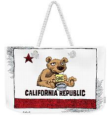 California Budget Begging Weekender Tote Bag