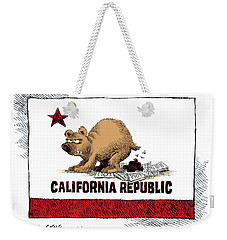 California Budget Iou Weekender Tote Bag