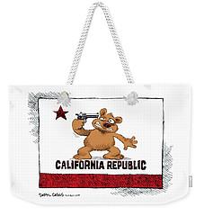 California Budget Suicide Weekender Tote Bag