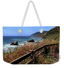 Weekender Tote Bag featuring the photograph California Coast by Joseph G Holland