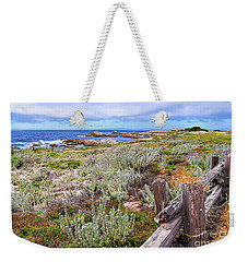 Weekender Tote Bag featuring the photograph California Coastline by Gina Savage