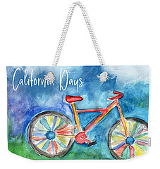 California Days - Art By Linda Woods Weekender Tote Bag