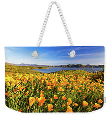 Weekender Tote Bag featuring the photograph California Dreamin by Tassanee Angiolillo