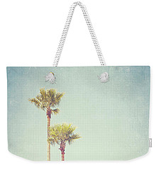 California Dreaming - Palm Tree Print Weekender Tote Bag by Melanie Alexandra Price
