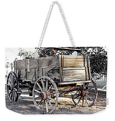California Farm Wagon Weekender Tote Bag