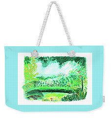 California Garden Weekender Tote Bag
