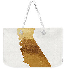 California Gold- Art By Linda Woods Weekender Tote Bag