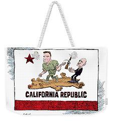 California Governor Handoff Weekender Tote Bag