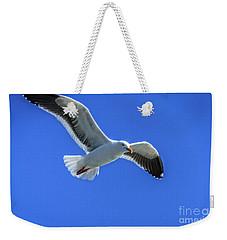 California Gull Weekender Tote Bag by Robert Bales