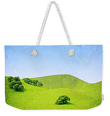 Weekender Tote Bag featuring the photograph California Hillside by Melanie Alexandra Price